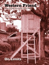 Picture of tree house on magazine cover